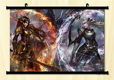 League of Legends Diana Leona Paintings Home Decoration Scroll Poster 60*90 CM