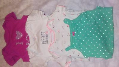 Lot of baby girl clothes size 9 months