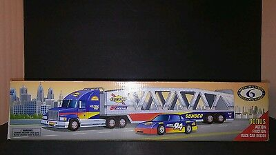 1999 COLLECTOR'S EDITION SUNOCO CAR CARRIER 1:38 scale