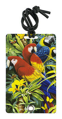 YaYtag - Trendy Luggage Tags - Set of 2 - Majestic Macaws by YaY Novelty