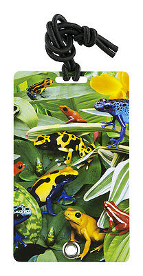 YaYtag - Trendy Luggage Tags - Set of 2 - Dart Frogs by YaY Novelty