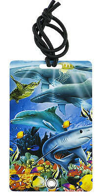 YaYtag - Trendy Luggage Tags - Set of 2 - Ocean View by YaY Novelty