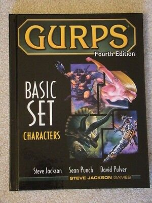 GURPS Basic Set Characters 4th Edition NM