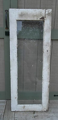 Farmhouse Door OLD BARN One Pane Window Door Cabinet Door Chippy Paint Vintage
