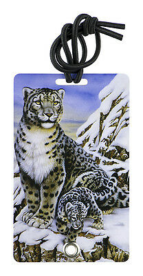YaYtag - Trendy Luggage Tags - Set of 2 - Snow Leopard by YaY Novelty