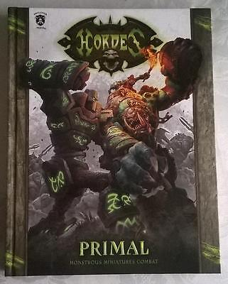 Hordes Primal MkIII Hard Cover Book NEW