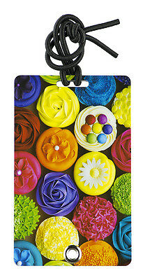 YaYtag - Trendy Luggage Tags - Set of 2 - Cupcake Glory by YaY Novelty