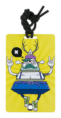 YaYtag - Trendy Luggage Tags - Set of 2 - Modern Dude by YaY Novelty