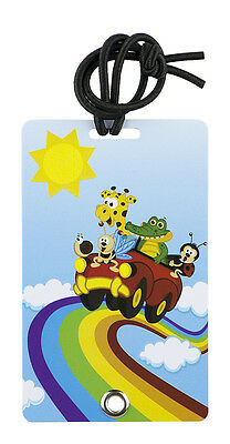 YaYtag - Trendy Luggage Tags - Set of 2 - Rainbow Riders by YaY Novelty