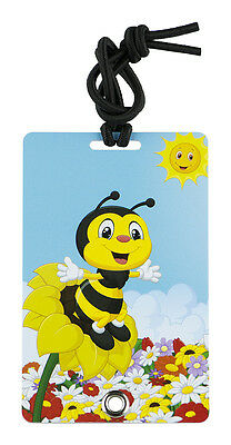 YaYtag - Trendy Luggage Tags - Set of 2 - Happy Bee by YaY Novelty