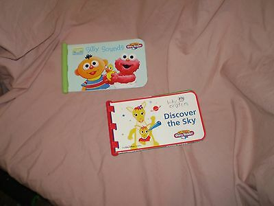 My first story reader lot of 2 books only baby Einstein and sesame  beginnings