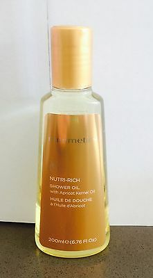 Nutrimetics ' NUTRI-RICH Shower OIL With Apricot Kernel Oil ' Brand New RRP $36.
