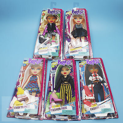 Set of 5 - BRATZ Fashion Packs for 11.5 in. Dolls - Outfits w/ Shoes