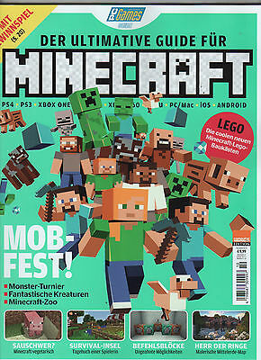 PC GAMES Guide 10 2016: Der ultimative Guide für MINECRAFT - neuwertig