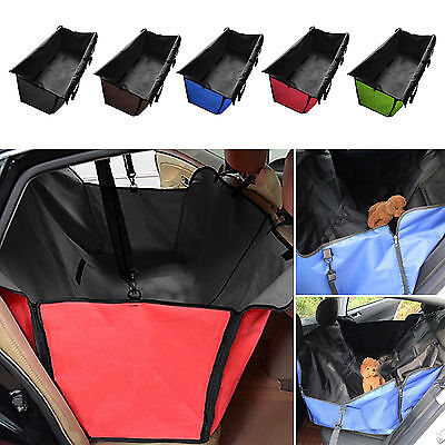 Pet Dog Car Rear Back Seat Waterproof Cover Safety Mat Liner Protector Hammock