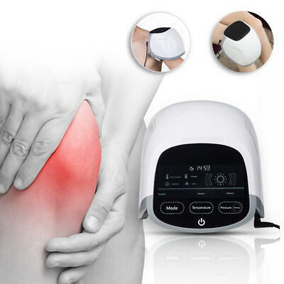 Physiotherapy Knee Massager laser therapy Temp Heating Kneading Knee Pain Relief