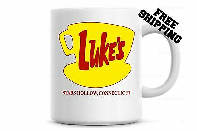 Luke's Diner Mug Coffee Mug, Gilmore Girls Stars Hollow Connecticut Cool
