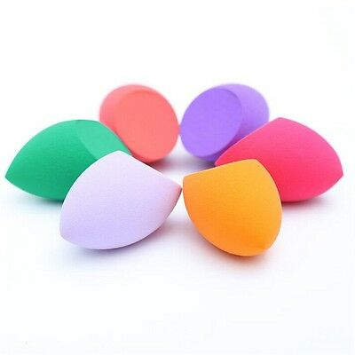 3Pcs Makeup Foundation Sponge Blender Cosmetic Puff Powder Smooth Beauty Tools