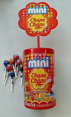 Chupa Chups Mini Assorted Flavour Lollipops