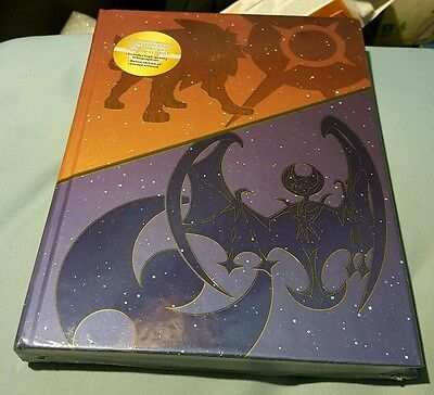 Pokemon Sun Moon Collectors Edition Strategy Guide Art Book Sealed New Litho Set
