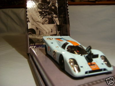 Fly 99128 Special Gulf Porsche 917K Le Mans New 1/32