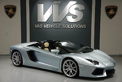 2014 Lamborghini AVENTADOR LP700 Roadster VAT QUALIFYING Automatic Convertible