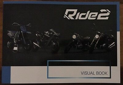 Ride 2 Visual Book PS4 XBox One Brand New Collectors Edition