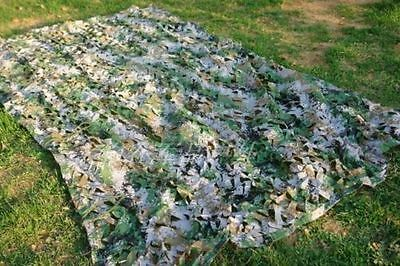 New 3.2X6.5ft Military Digital Netting Camouflage Net Woodland Leaves Camo Tent