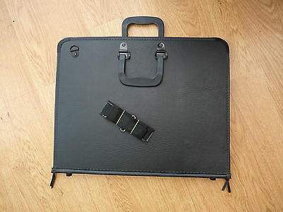 Daler Rowney Classic Zip Folio Strong Hard Wall Portfolio Case A3 without rings