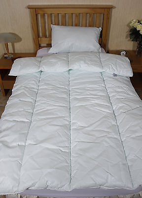 Comfortnights Waterproof and Wipe Clean Duvet and Pillow Set Single Bed
