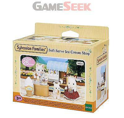 Sylvanian Families Soft Serve Ice Cream Shop - Toys Brand New Free Delivery