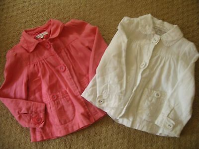Immaculate. 2 x Autograph girls smart jackets -Age 4- 5- Look fantastic on
