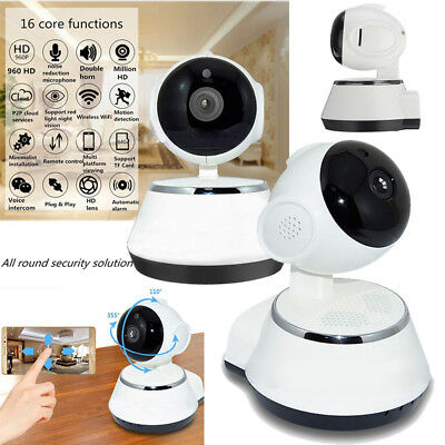 720P HD WIFI IP Kamera WLAN Wireless Netzwerk WIFI Nachtsicht CCTV Camera Webcam