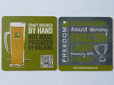 Freedom Brewery Beermat Coaster A
