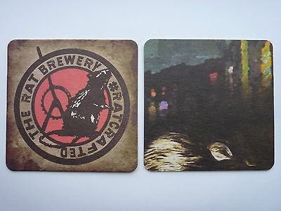 The Rat Brewery #Rat Crafted (5) Beermat Coaster
