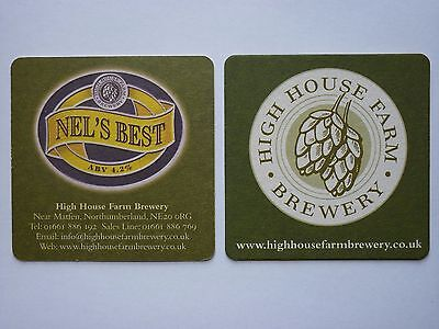 High House Farm Brewery Nel's Best Beermat Coaster