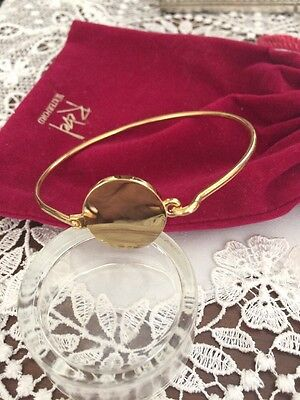 Lovely Bangle Gold Tone By Waterford