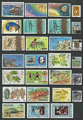 Ghana  A Selection of 27 Fine Used Stamps (6)