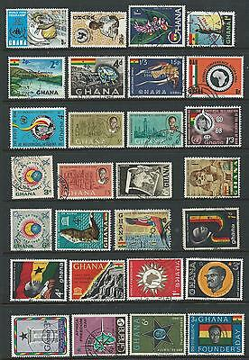 Ghana  A Selection of 28 Fine Used Stamps (3)
