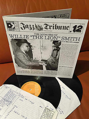 "LP - The Memoirs Of   Willie ""The Lion"" Smith"