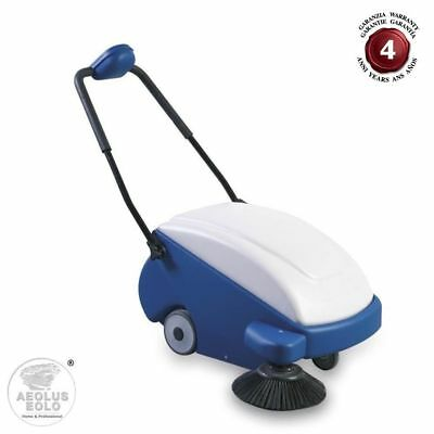 Professional Floor Sweeper Man Down With Battery Eolo Lps05 B