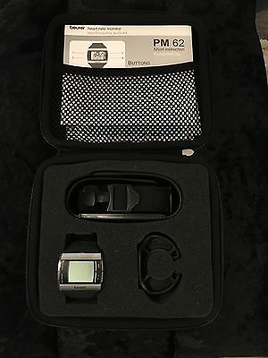 Beurer PM62 Heart Rate Monitor New Never Used