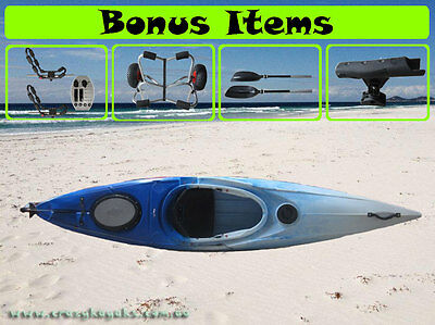 New Sea - Ocean Sit-In Touring Expedition Canoe Kayak Boat Package $688
