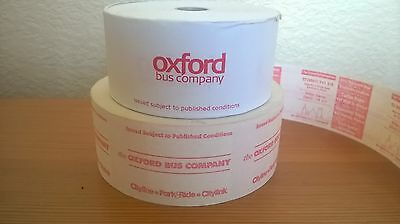 Colourful Bus Ticket rolls