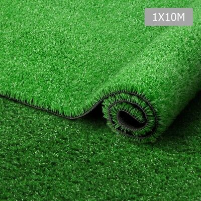 Artificial Grass 10SQM Synthetic Turf Durable Plastic Lawn Flooring 15mm Olive
