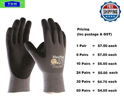 MaxiFlex  Ultimate Nitrile Work Glove 34-874 -24 Pairs