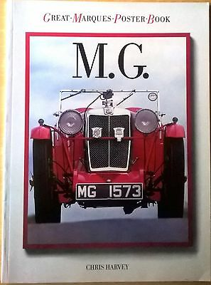 MG Car Book. Great-Marques-Poster Book(235x315x5mm)