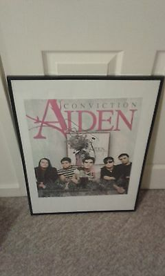 Aiden Conviction - Signed / Autographed Promo Poster (Rock Indie )