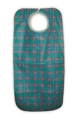 Heavy Duty Re-Usable Adult Apron Green Stuart
