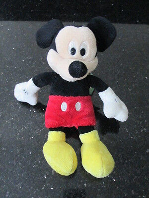 """Disney Store - Mickey Mouse - Plush/Cuddly Toy - 7"""""""